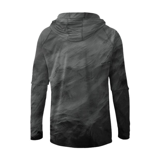 Black Storm Men's UPF 30 Sun Protection Performance Hoodie - aquaflauge