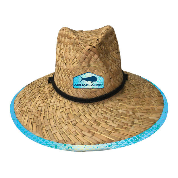 Aquacade Dorado Straw Lifeguard Hat
