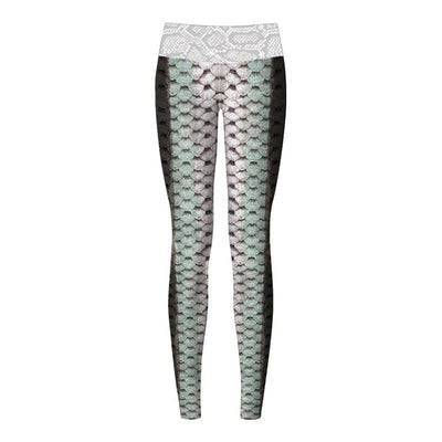 Silver Tarpon Women's Yoga Pants - aquaflauge