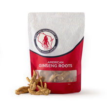 Load image into Gallery viewer, All Natural Pure American Whole Ginseng Roots 西洋参茶 (Non-GMO, Gluten Free Herb)