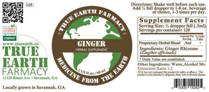 Ginger Root Extract Tincture