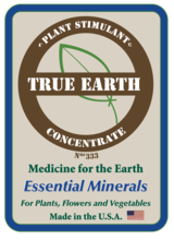 Essential Mineral Concentrate  (Used for Transplanting plants and starting seeds)