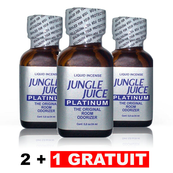 J. Juice Platinum - Lot de 3