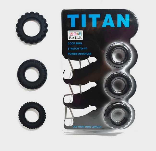 TITAN V3 - Lot 3 Cockrings