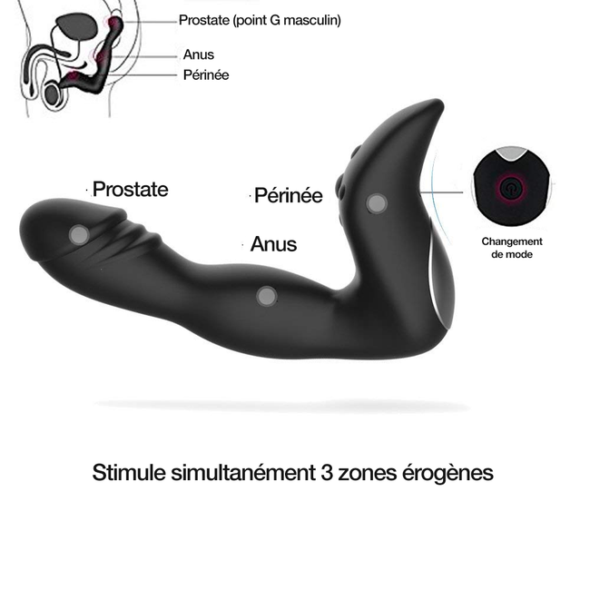 Stimulateur Prostatique Penis Shape