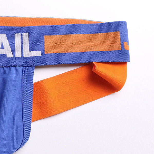 Jockstrap Mesh Funky Bleu / Orange