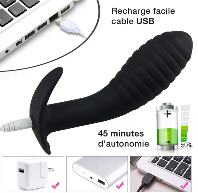 Plug Vibrant Masseur Prostatique - IntensX
