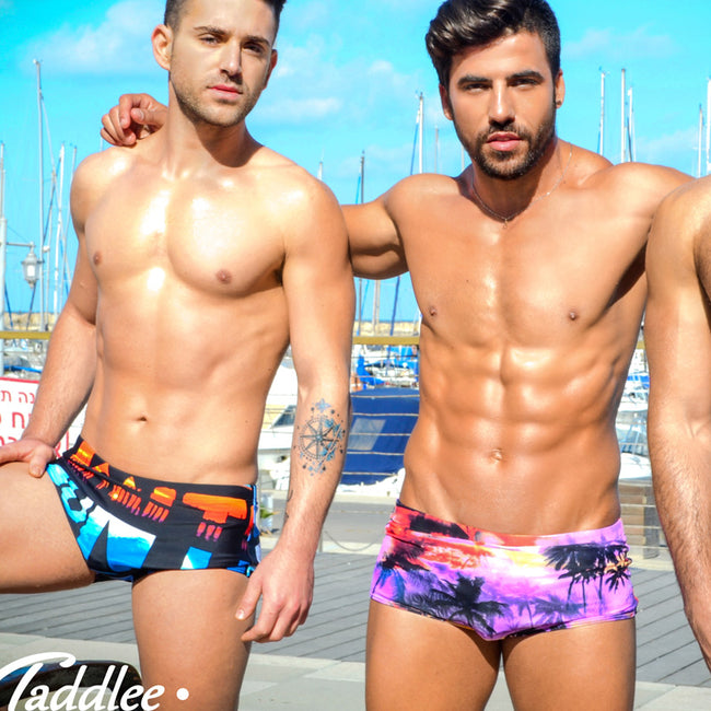 Maillot de Bain Tropical Sunset