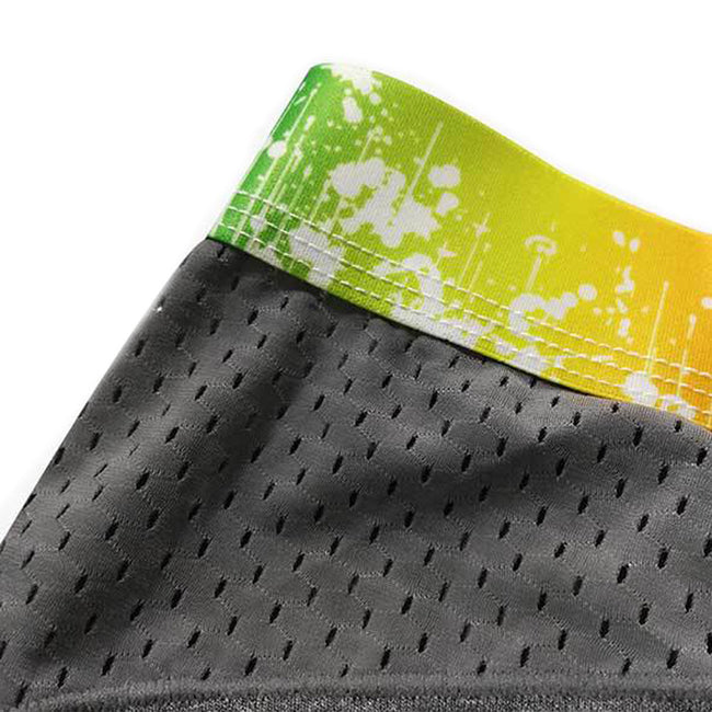Boxer Taille Basse Rainbow Gris