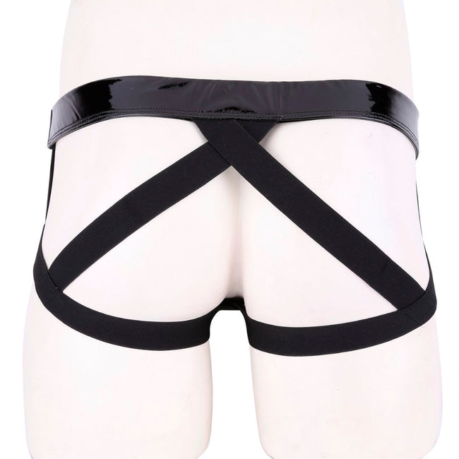 Jockstrap Brillant Simili Cuir
