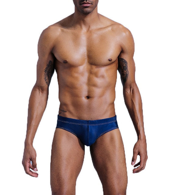 Maillot de Bain Push Up Hot LifeGuard - Bleu