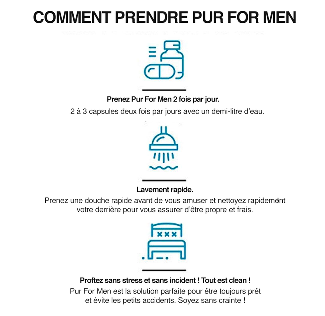 Régulateur de Transit pour Passifs - Pure For Men