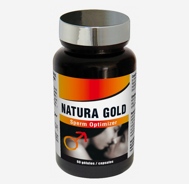 Sperm Optimizer Natura Gold (60 gélules)