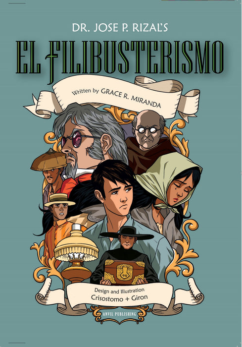 El Filibusterismo-comics