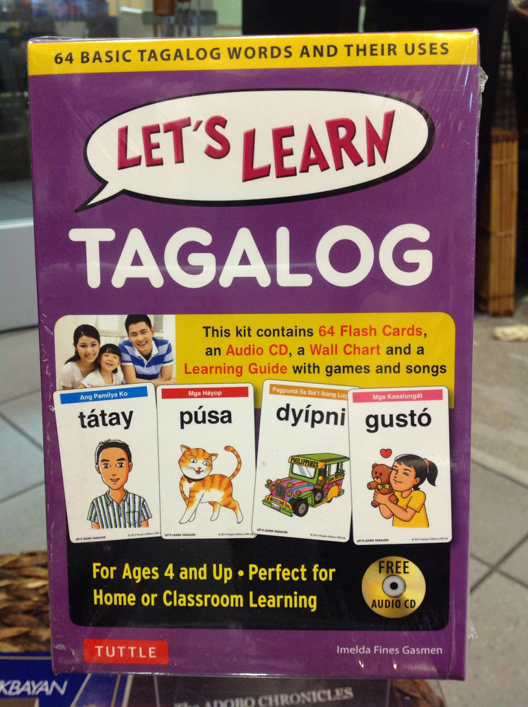 Let's Learn Tagalog - Flashcards