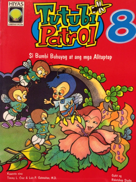 Tutubi Patrol 8 - Si Bumbi Bubuyog at ang mga Alitaptap - Bumbi Bee and the Fireflies
