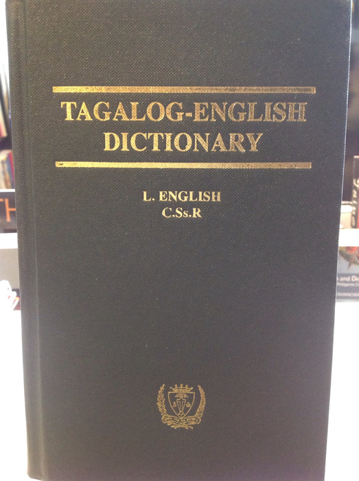 English-Tagalog Dictionary (Leo James English)