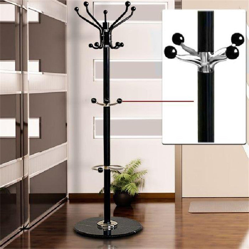 Tree Style Coat Rack 1.7m Metal Coat Hat Jacket Stand Tree Holder Bags Hanger Rack with Marble Base Clothes Racks FR JSX