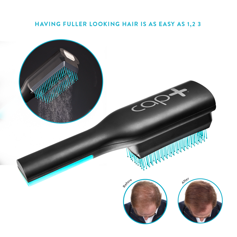 Cap+ Volumizing Keratin Brush