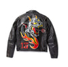 Devil Painted Leather Jacket - Custom