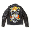 Eagle Painted Leather Jacket - Custom
