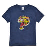 Tiger Head Washed T-Shirt