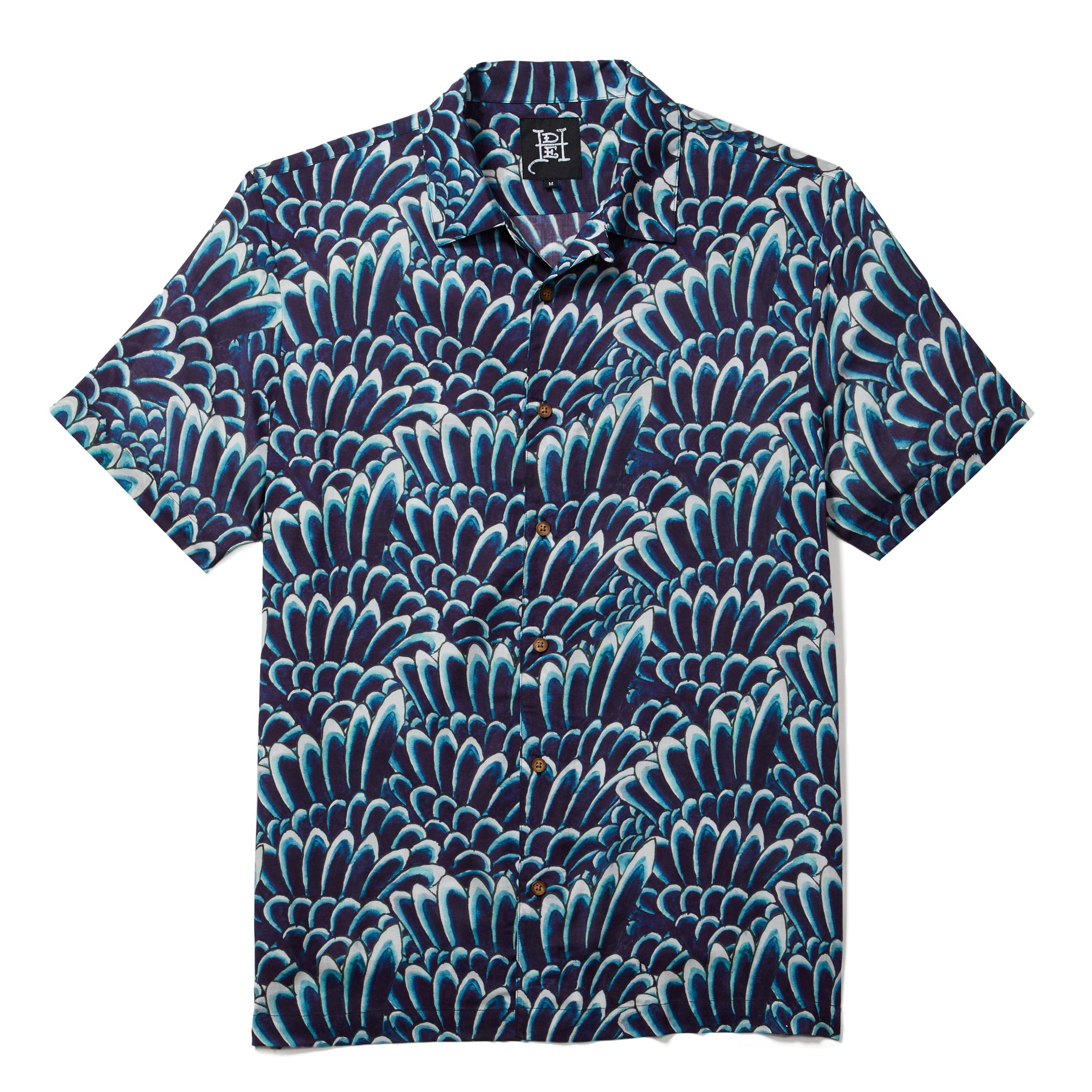 Printed Camp SS Shirt