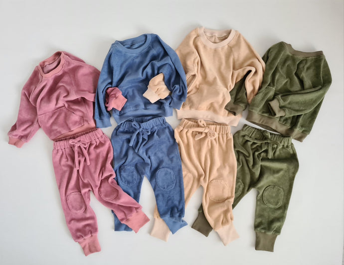 Children's Woven Cotton Tracksuit