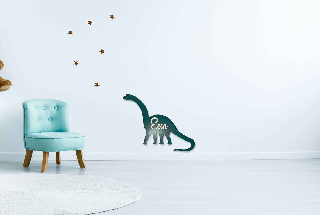 Brachiosaurus Wall Sign