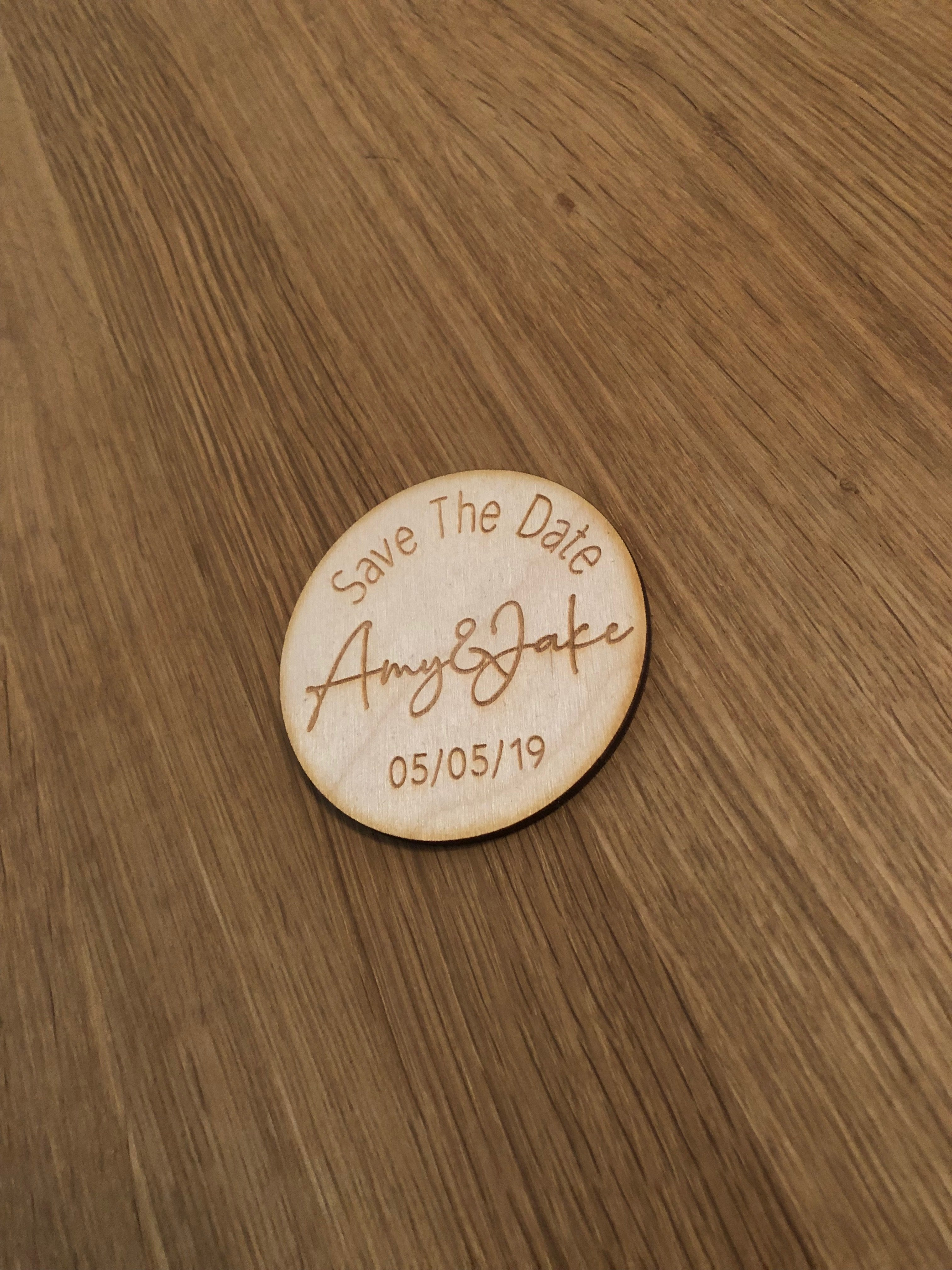 Ply Save The Date Token
