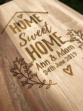 Load image into Gallery viewer, 'Home Sweet Home' board
