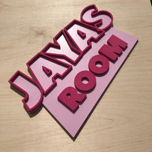 Load image into Gallery viewer, Toy Story Style Door Sign