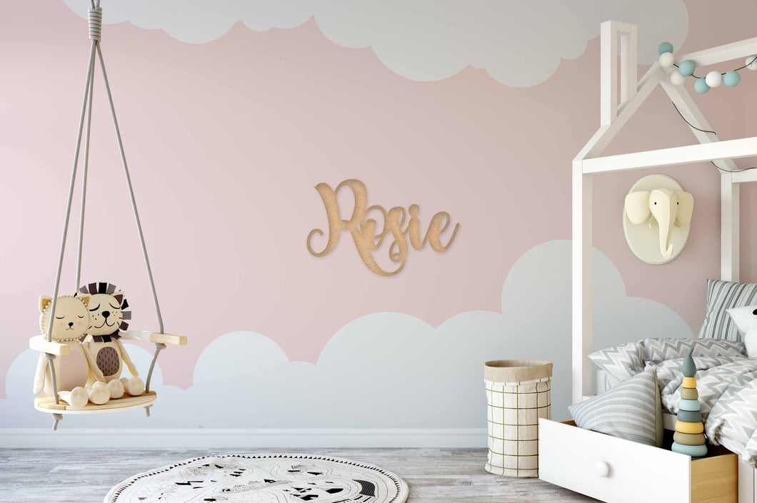 Name Wall Sign (Cute)