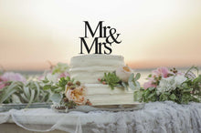 Load image into Gallery viewer, Mr&Mrs Cake Topper