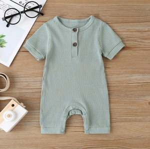 Ribbed Short Sleeve bodysuit