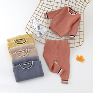 Knitted Jumper And Jogger Set