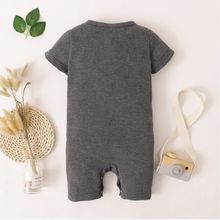 Load image into Gallery viewer, Baby Casual Solid Woven Jumpsuit