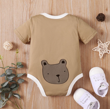 Load image into Gallery viewer, Baby Bear Print Romper