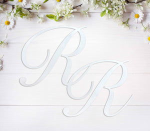 Large Initials Wall Sign