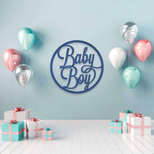 Load image into Gallery viewer, Baby Boy: Baby Shower Wall Sign