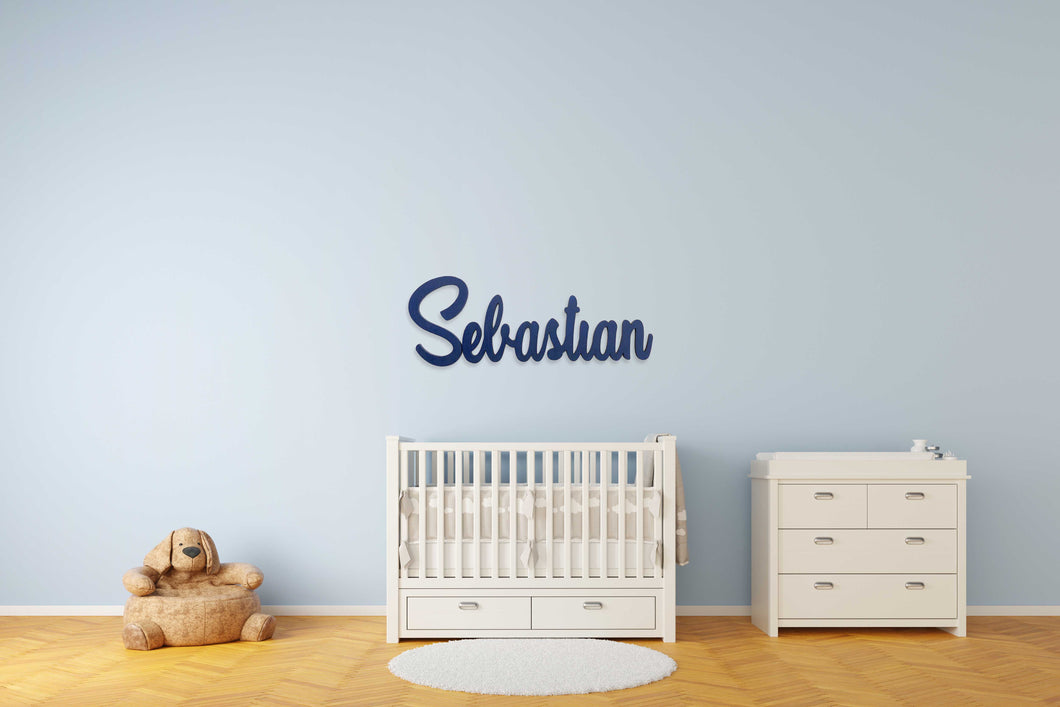 Name Wall Sign (Curvy)