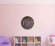 Load image into Gallery viewer, Girl Circle Wall Plaque