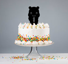 Load image into Gallery viewer, Children's Teddy Cake Topper