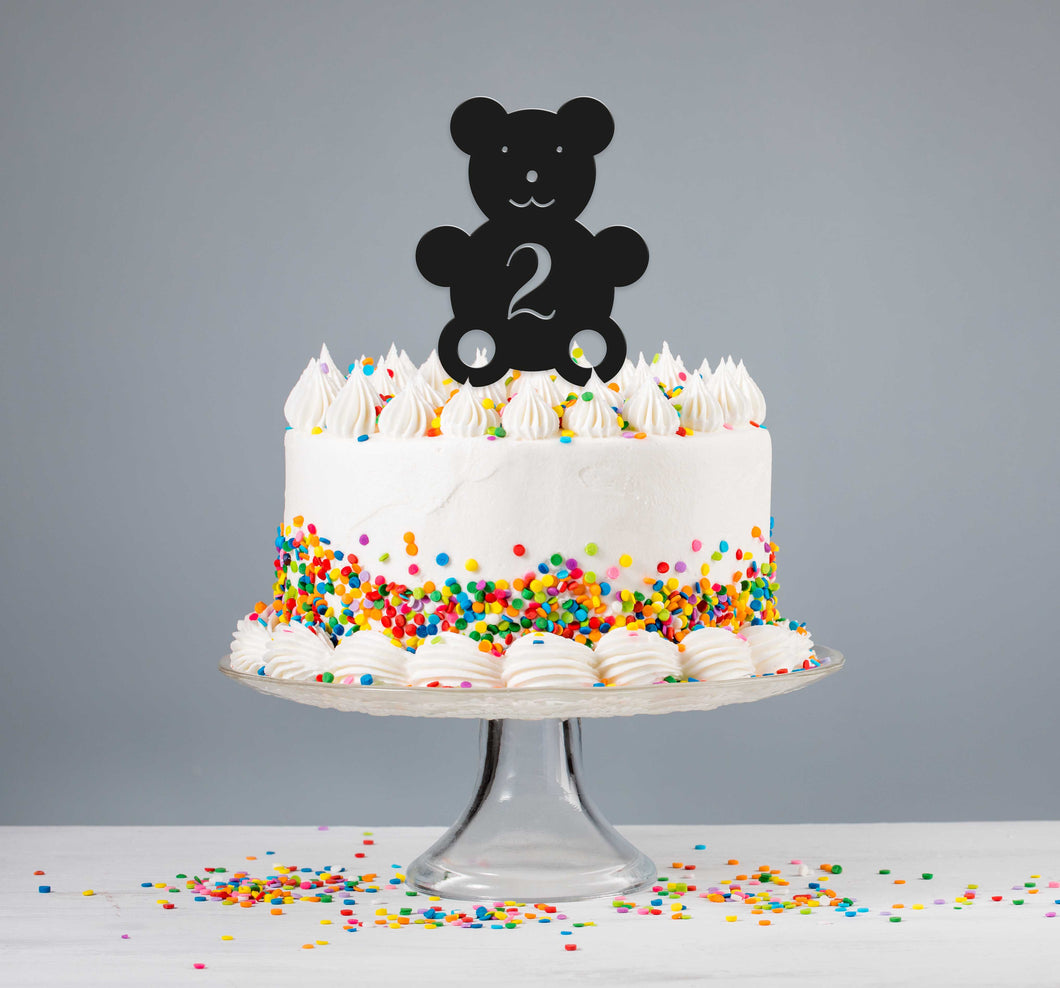 Children's Bear Cake Topper