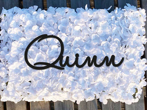 Name Flowerwall (White)