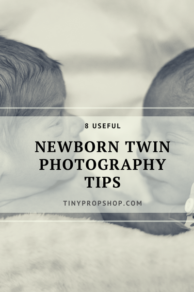 8 Useful Newborn Twin Photography tips