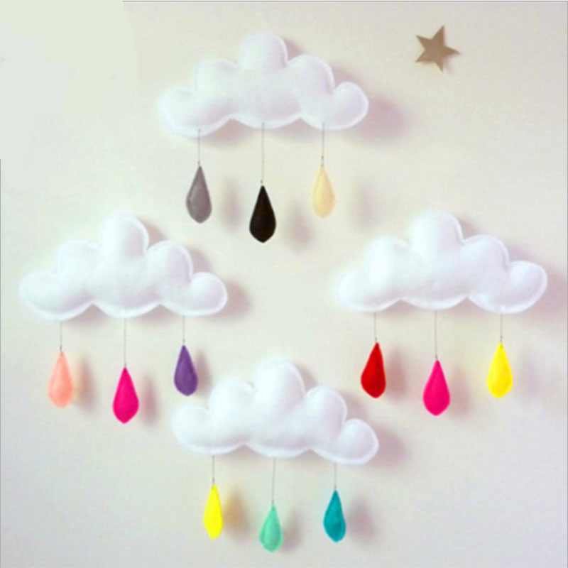 Colorful Raindrop Clouds