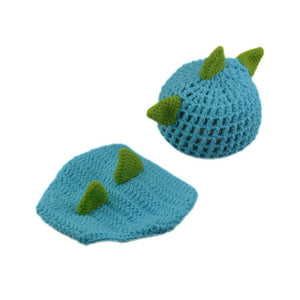 Newborn Knit Dinosaur Set