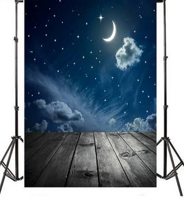 Vinyl Attic Night Sky Backdrop-B1-TinyPropShop