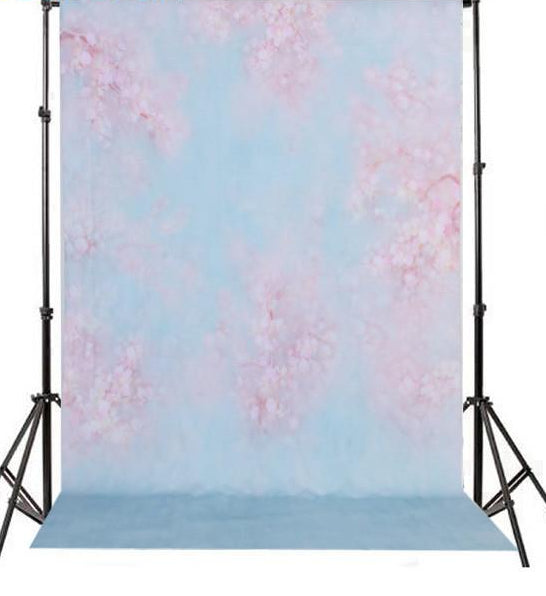 Vinyl Floral Newborn Backdrops